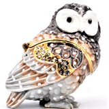 Small Owl Trinket Box
