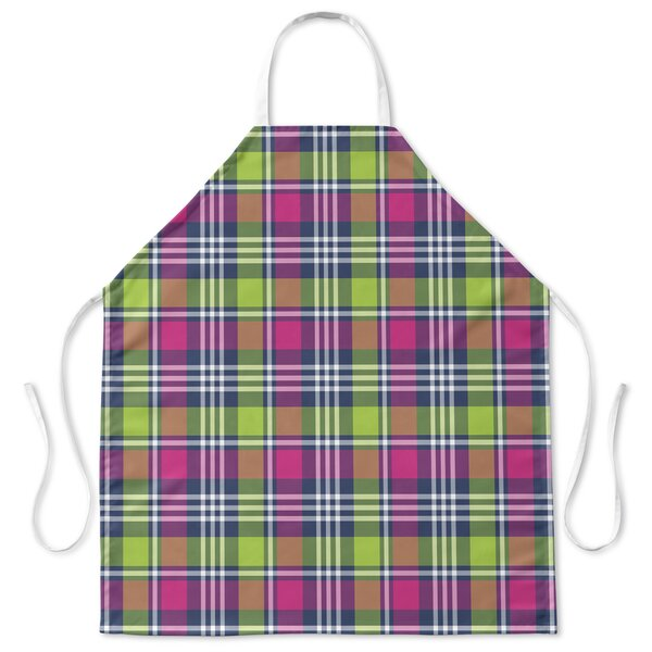 Love Potion Plaid Cooking Apron by Red Barrel Studio
