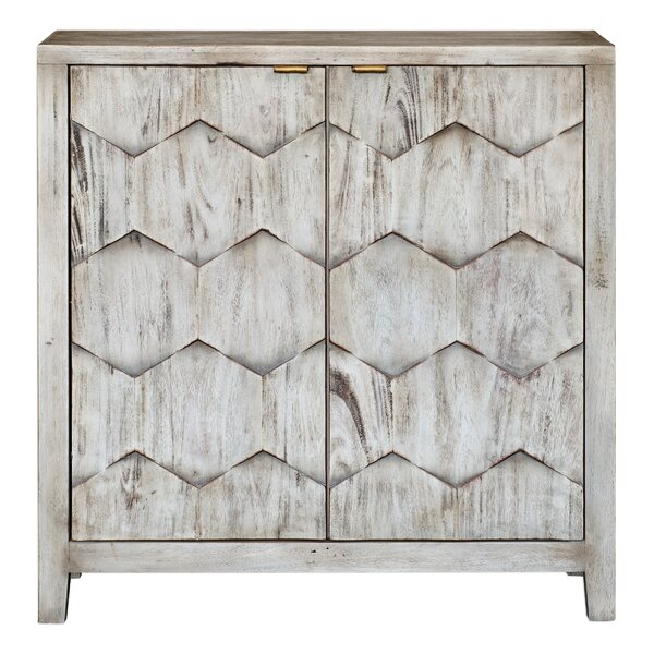 Post 2 Door Accent Cabinet by Union Rustic