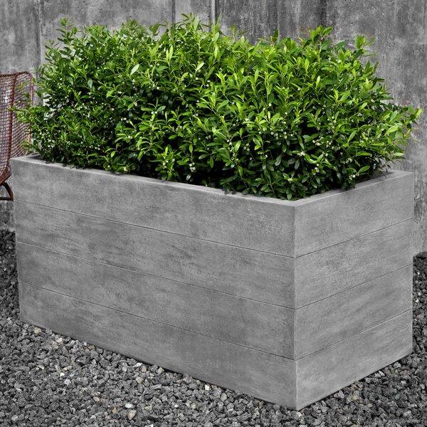 Chênes Brut Cast Stone Planter Box by Campania International