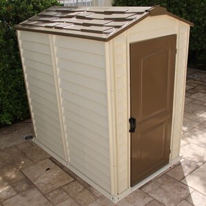 Garden Sheds 10 X 3 plastic sheds you'll love | wayfair