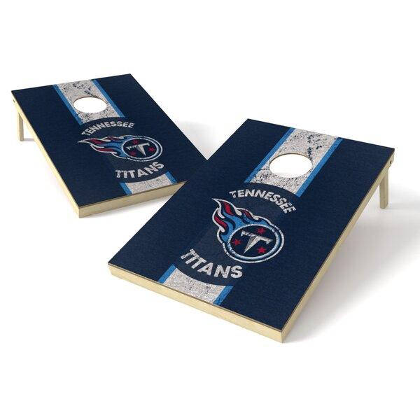 Nfl Heritage Cornhole Game Set By Tailgate Toss.