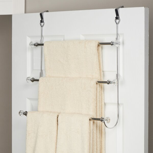 Wayfair Basics 3 Tier Over-the-Door Towel Rack by