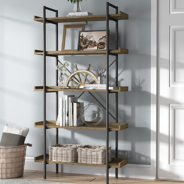 Brianna Standard Bookcase By Gracie Oaks.