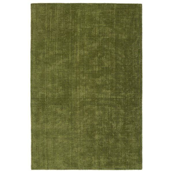 Borica Hand-Hooked Fern Indoor/Outdoor Area Rug