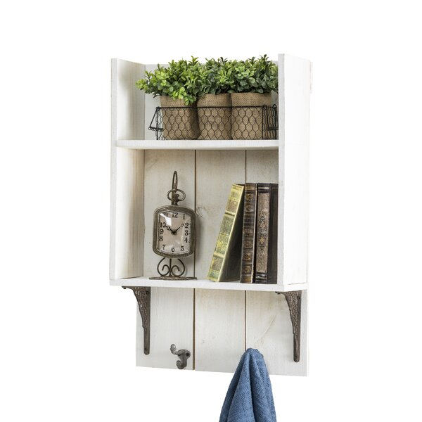 17 W Wall Shelf by Del Hutson Designs