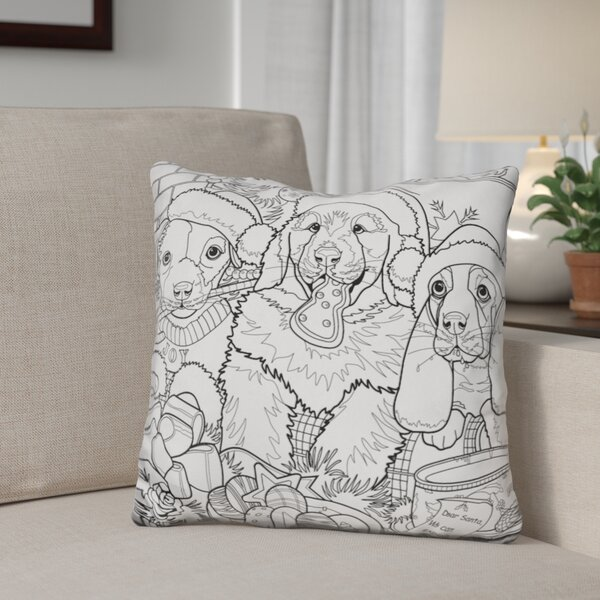 Berkey Christmas Cuties Throw Pillow by The Holiday Aisle