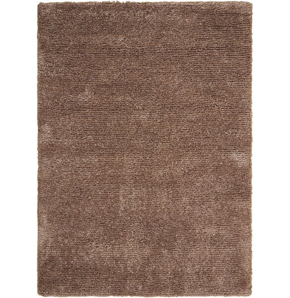 Sienna Hand-Tufted Camel Area Rug by Latitude Run
