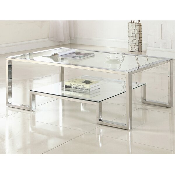 Mcauley Contemporary Coffee Table By Orren Ellis