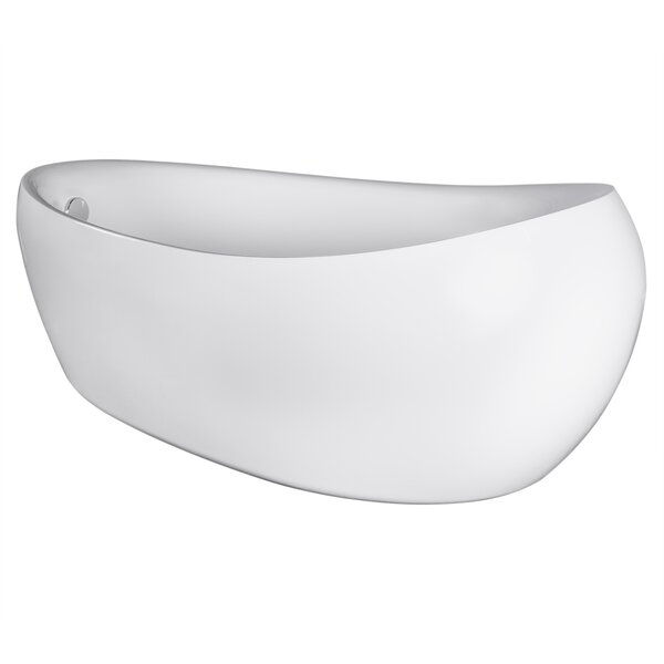 69'' x 33'' Freestanding Soaking Bathtub by AKDY