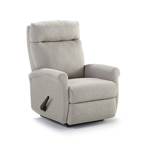 Jiya Rolled Arm Rocker Recliner