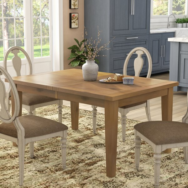 Centralia Extendable Dining Table by Highland Dunes