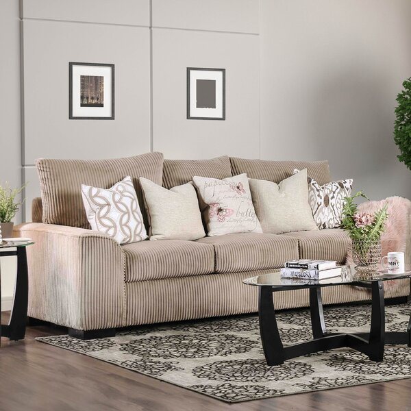 Superbe Wide Wale Corduroy Sofa | Wayfair
