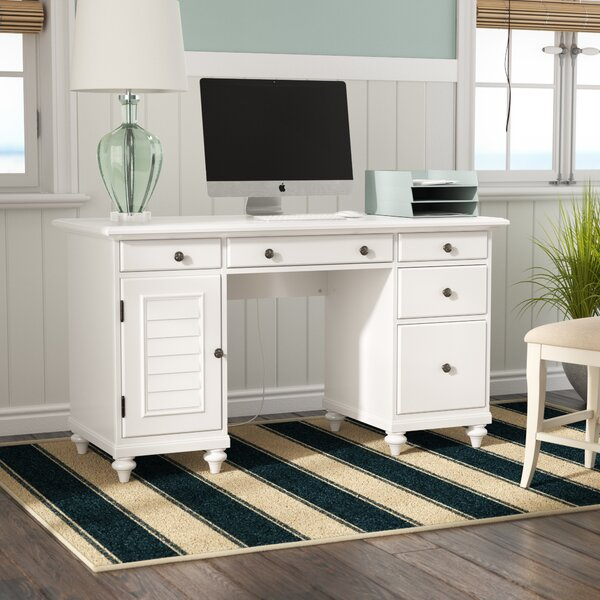 Harrison Executive Desk by Beachcrest Home