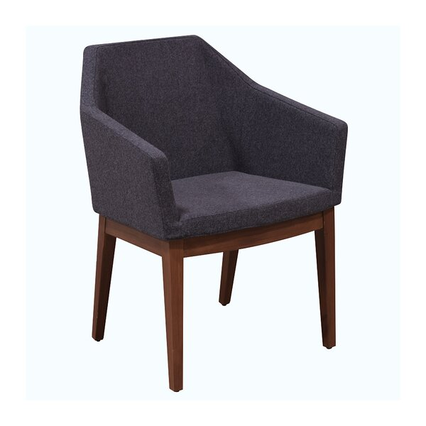 Schiff Upholstered Dining Chair by Wrought Studio