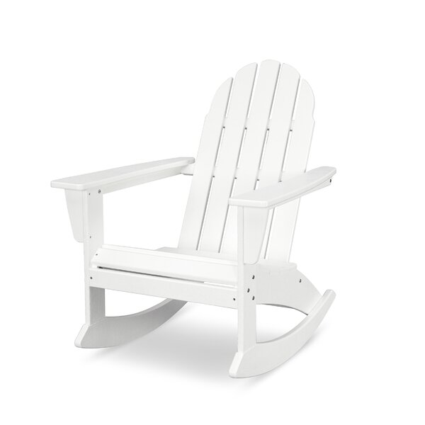 Vineyard Adirondack Plastic Rocking Chair by POLYWOOD POLYWOOD®