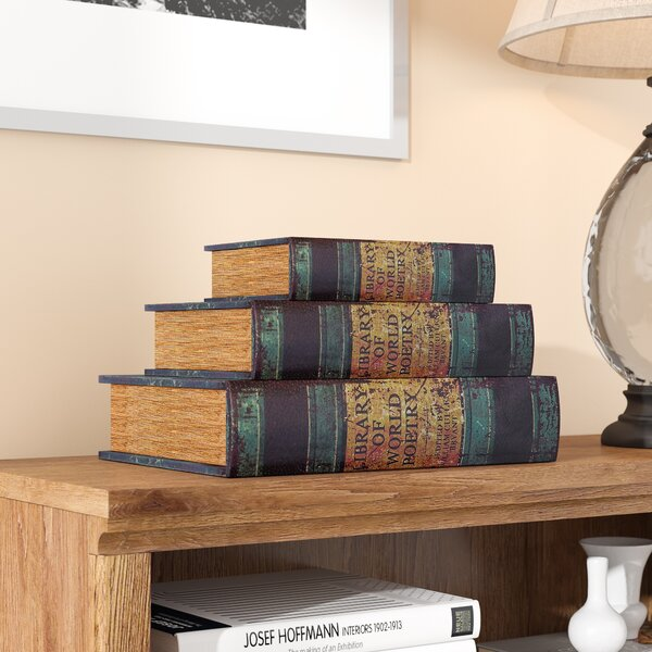 Junction 3 Piece World Poetry Book Box Set by Darby Home Co