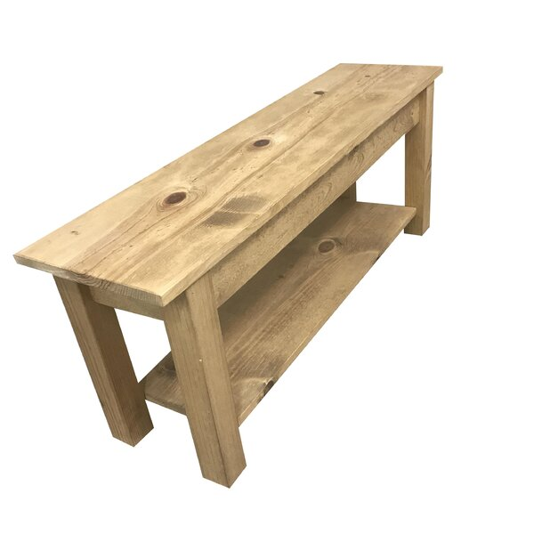 Della Wood Storage Bench by Loon Peak