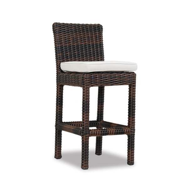 Montecito 30 Patio Bar Stool with Cushion by Sunset West