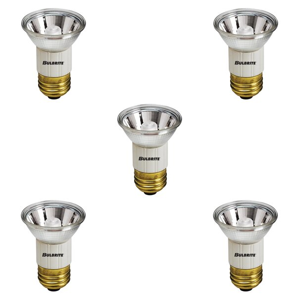 E26 Dimmable Halogen Spotlight Light Bulb (Set of 5) by Bulbrite Industries