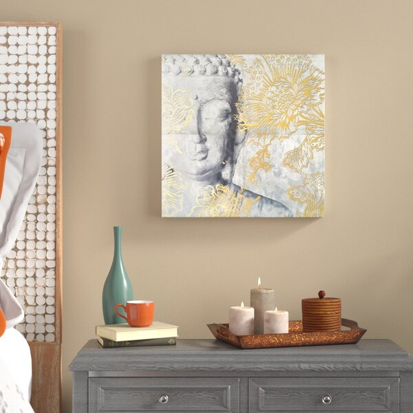 Calm Side Graphic Art on Wrapped Canvas by World Menagerie