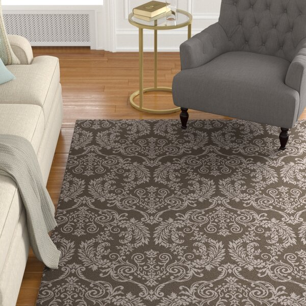 Barratt Hand-Knotted Camel Area Rug by Astoria Grand