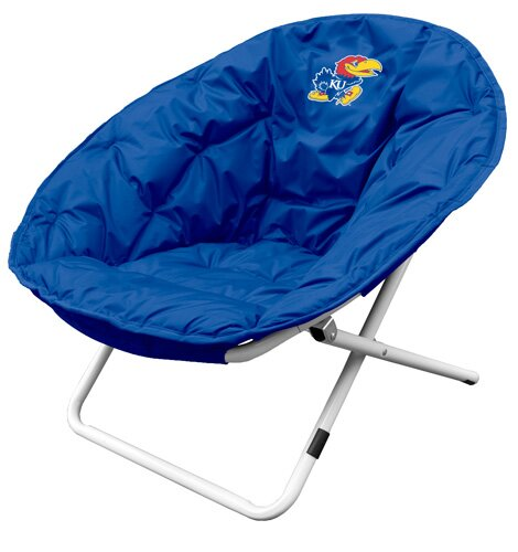 Collegiate Sphere Chair - Kansas by Logo Brands