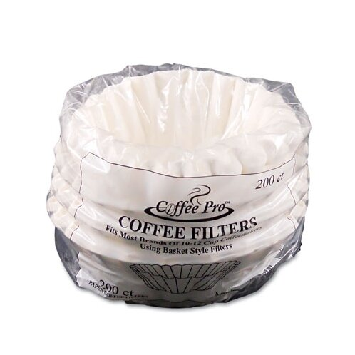 Coffee Pro Basket Filters 200 Filters/Pack by Original Gourmet Food Co.