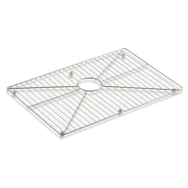 Vault /Strive Stainless Steel Sink Rack, 26 x 16-11/16 for 30 Single-Bowl Apron-Front Sink by Kohler