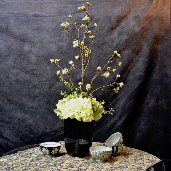 Mixed Branch Centerpiece in Decorative Vase Set by Rosdorf Park