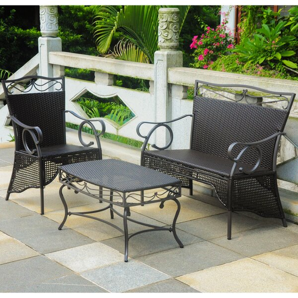 Meetinghouse 3 Piece Sofa Set by Three Posts