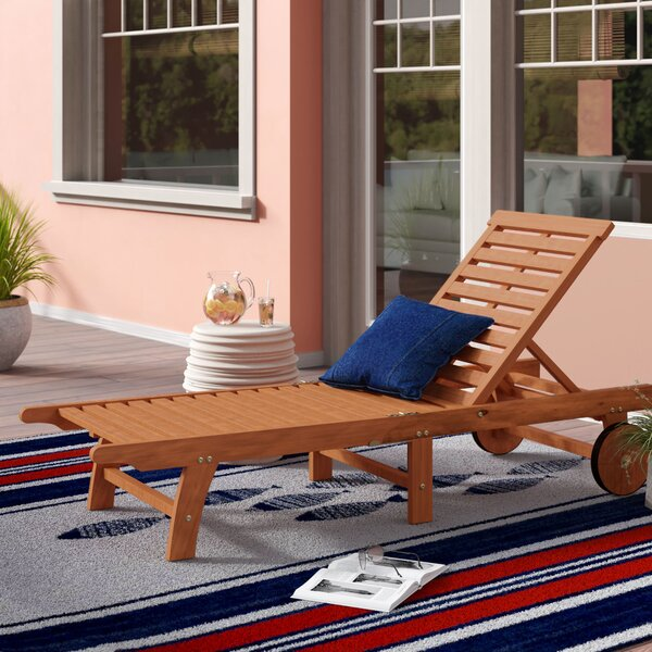 Amabel Reclining Chaise Lounge by Beachcrest Home Beachcrest Home