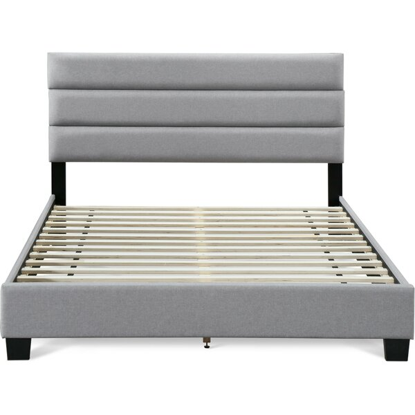 Nena Upholstered Platform Bed by Orren Ellis