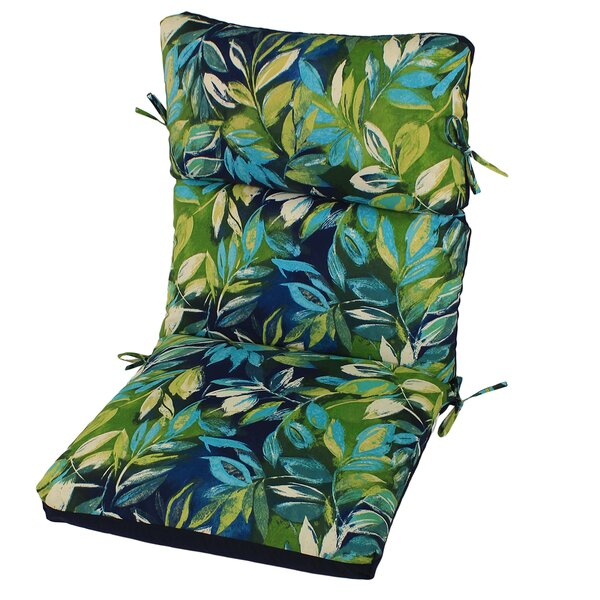 Reversible Indoor/Outdoor Lounge Chair Cushion By Bay Isle Home