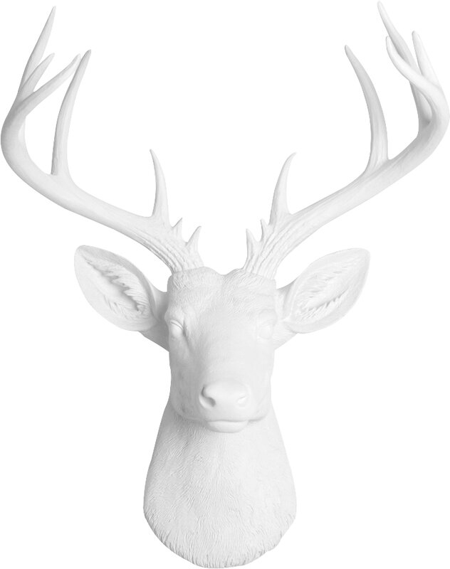 Superieur Faux Deer Head Wall Décor