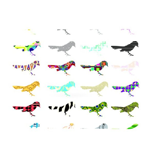 Birds Placemat by KESS InHouse