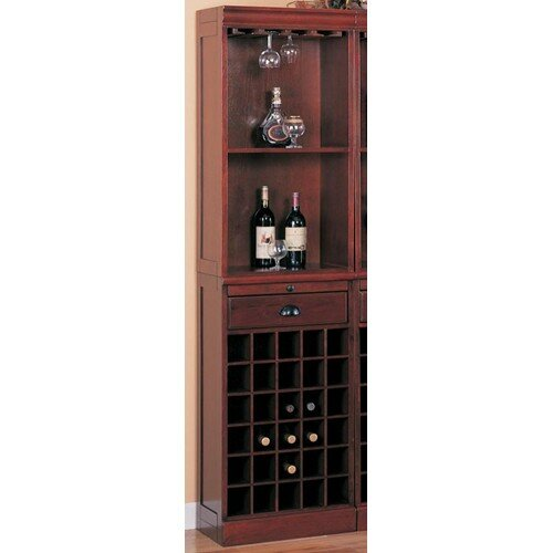 Bar Unit with Wine Storage by Wildon Home Wildon Home®