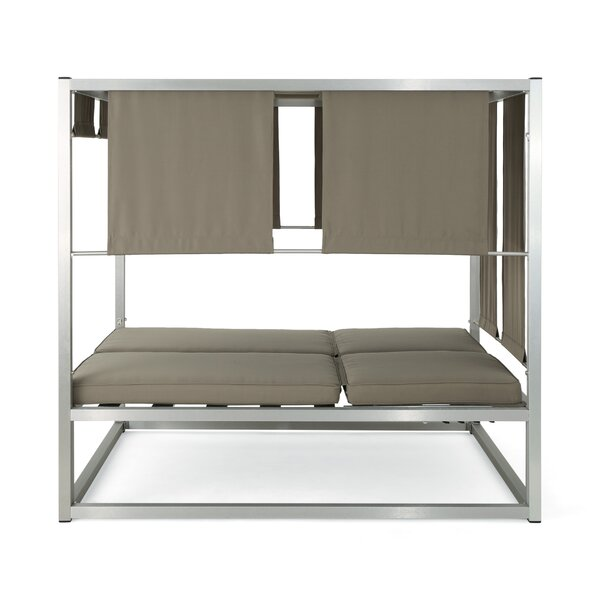 Lisa Patio Daybed with Cushions by Orren Ellis
