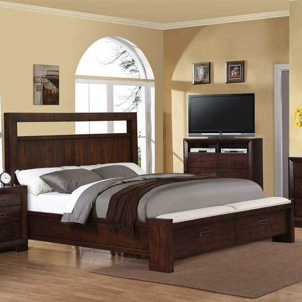Marazi Upholstered Platform Bed by Three Posts