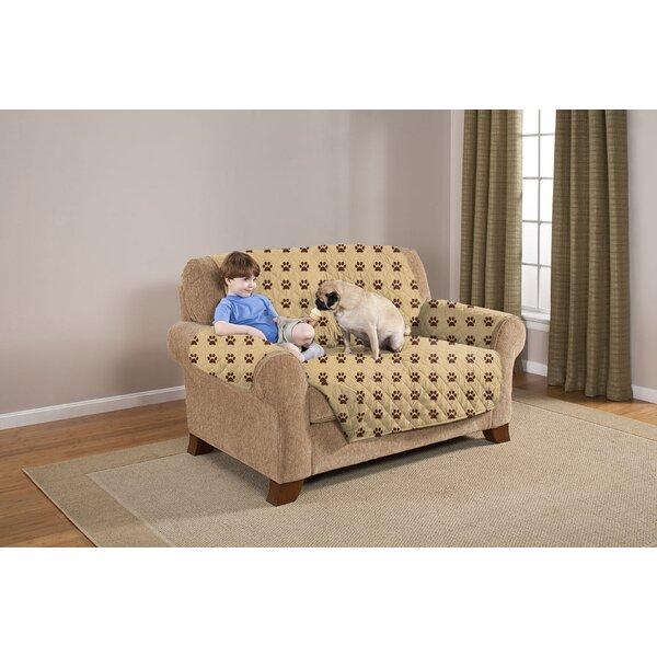 Box Cushion Loveseat Slipcover by Pegasus Home Fashions