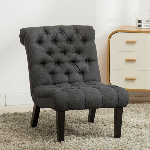 Stotler Upholstered Slipper Chair by Charlton Home