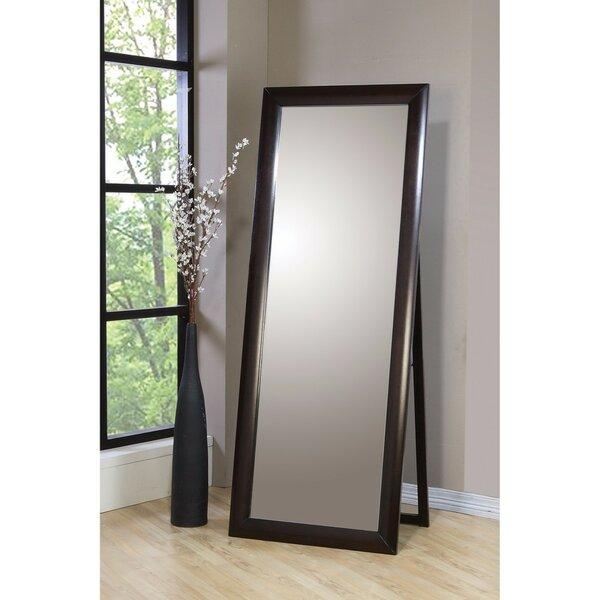 Quigley Splendid Standing Floor Full Length Mirror by Charlton Home