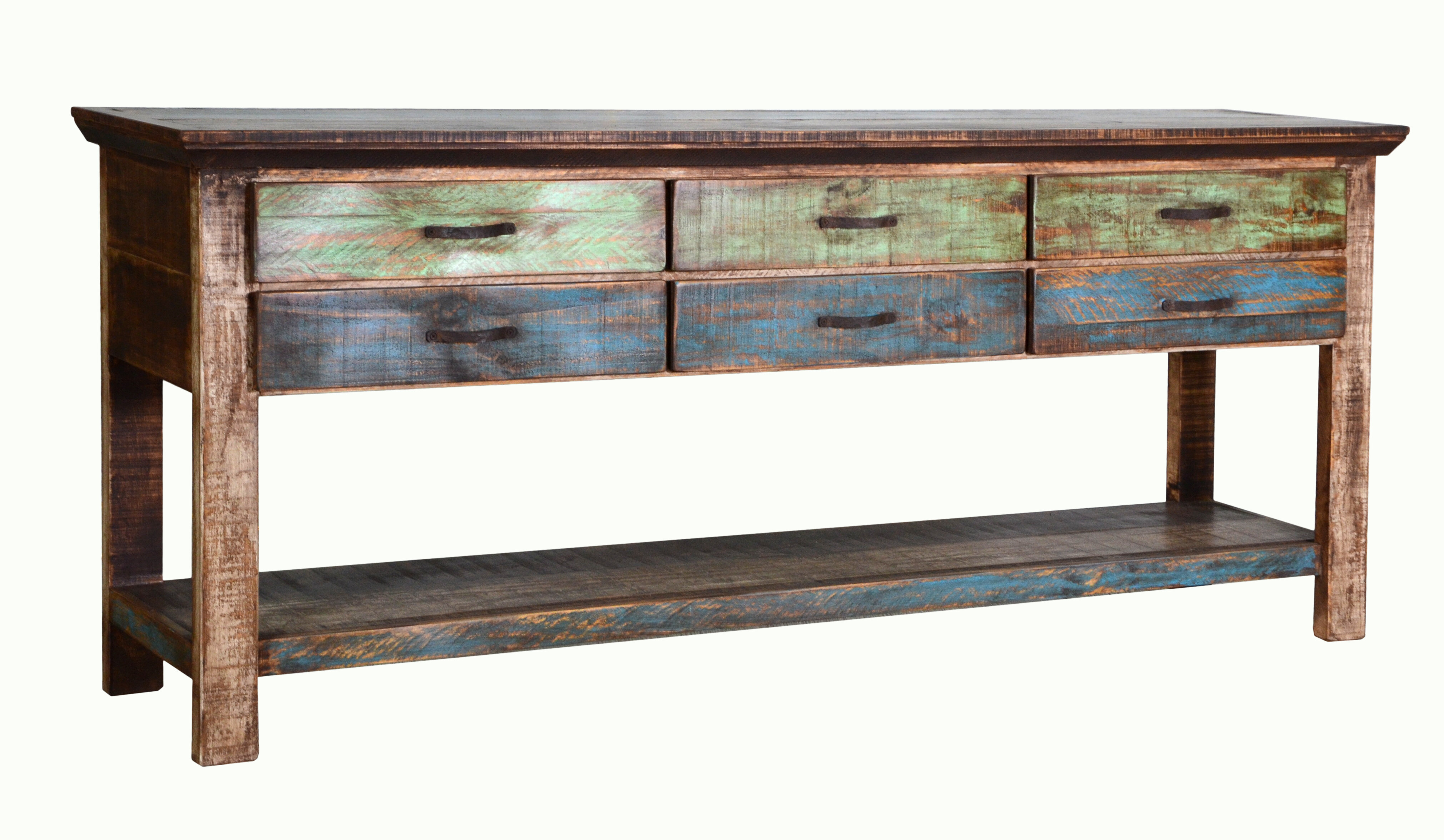 Swindell 72 Solid Wood Console Table