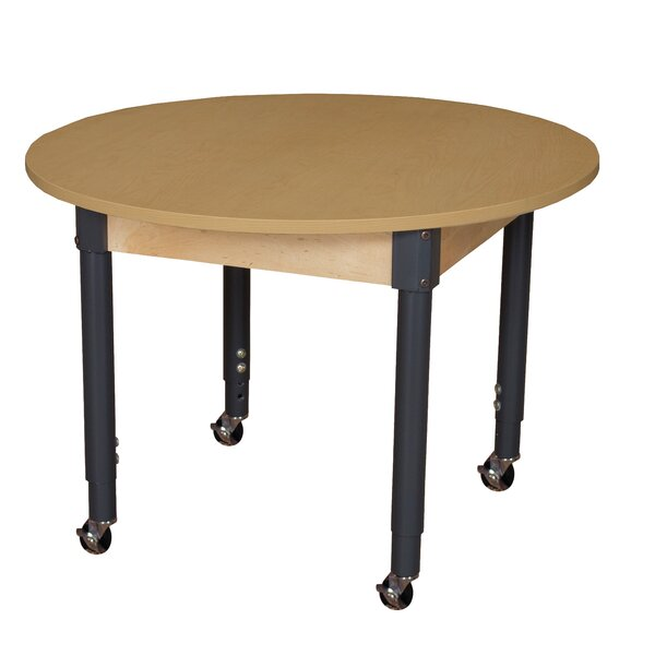 High Pressure Laminate 42 Circular Activity Table by Wood Designs