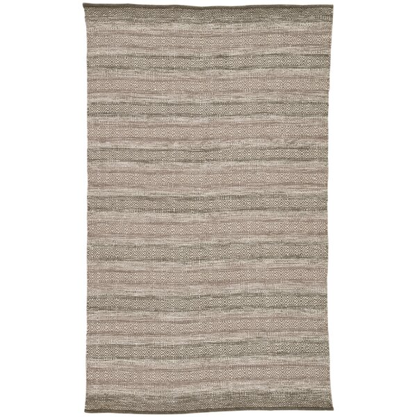 Perpetua Handwoven Flatweave Taupe/Gray Indoor/Outdoor Area Rug by Gracie Oaks