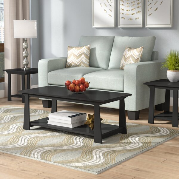 Elianna 3 Piece Coffee Table Set By Zipcode Design
