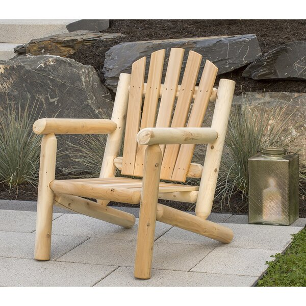 Humnoke Solid Wood Adirondack Chair by Loon Peak Loon Peak
