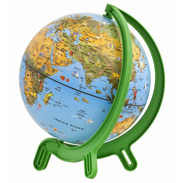 Kids Physical Globe by Zoomie Kids