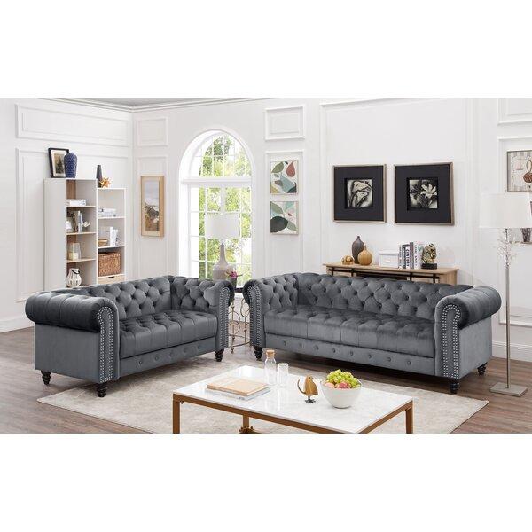 Kari 2 Piece Living Room Set by House of Hampton House of Hampton