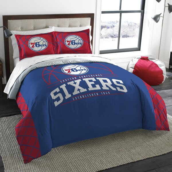 NBA Reverse Slam 3 Piece Full/Queen Comforter Set